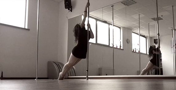 lyrical pole dancing