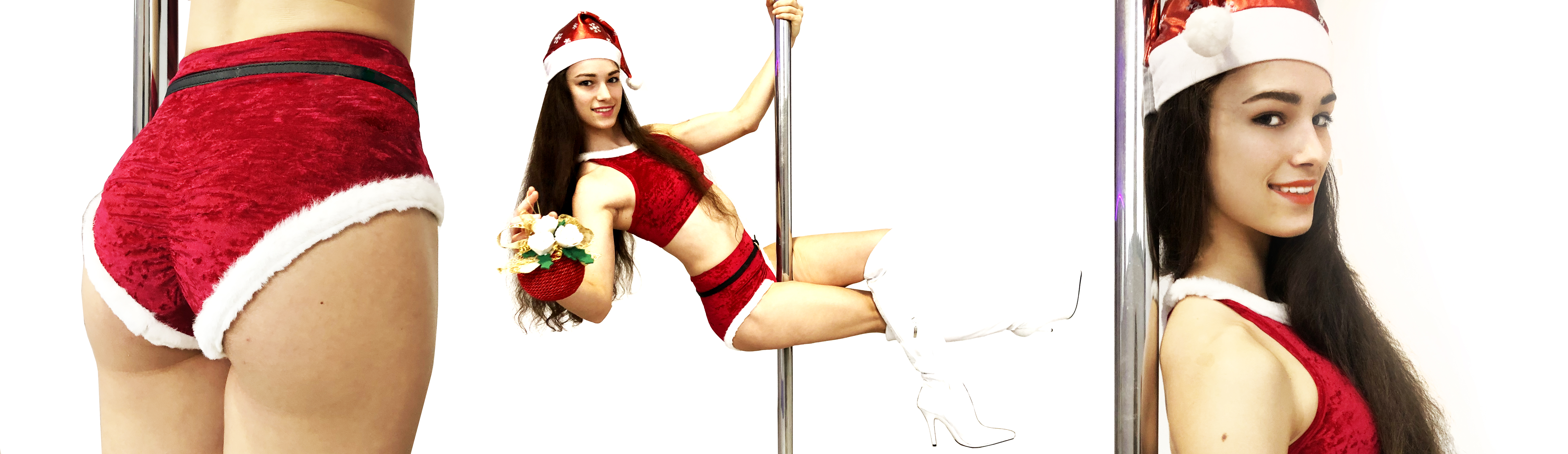 Completino pole dance Natale
