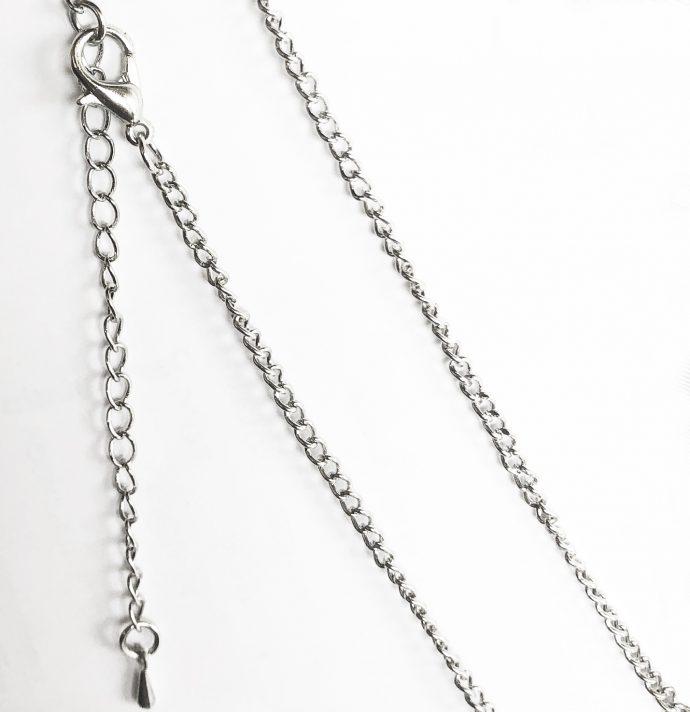 collana pole dancer argento