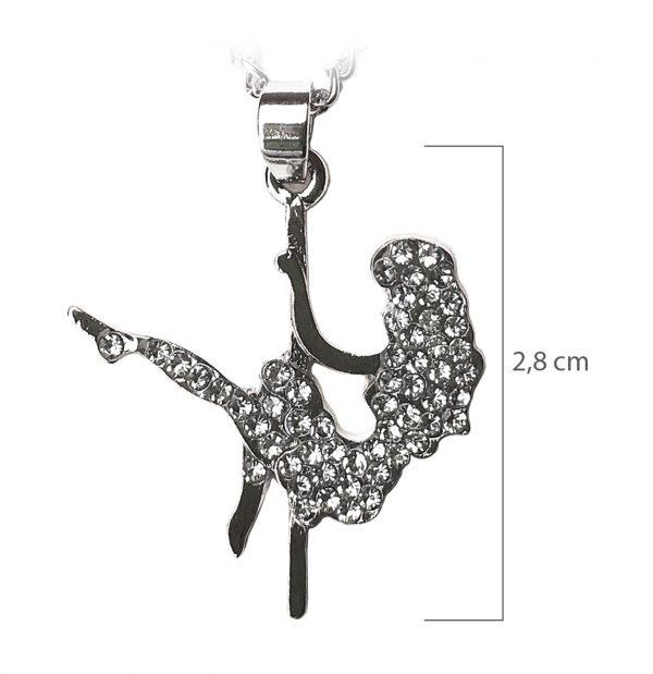 collana argento pole dancer